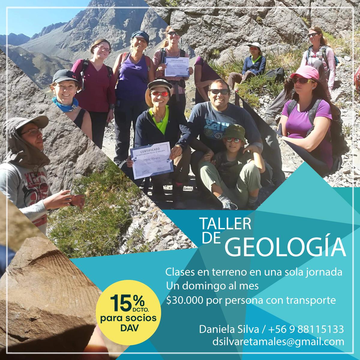 Convenio Taller de Geología