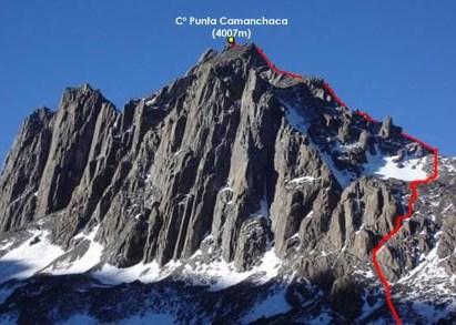 Salida Cerro Punta Camanchaca – 15 y 16 de Junio