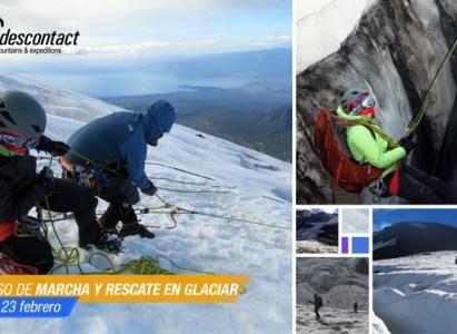 CURSO MARCHA Y RESCATE SOBRE GLACIAR ANDESCONTACT – Febrero 2020