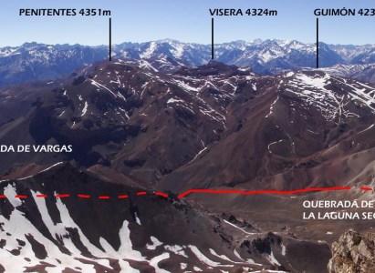 Ascenso cerro Serrata (Argentina) – 7 a 9 de Febrero