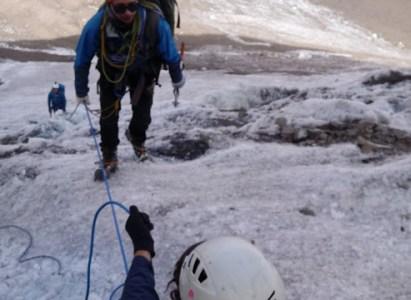 Curso Rescate en Grietas y Tránsito Glaciar 1 al 3 de Mayo