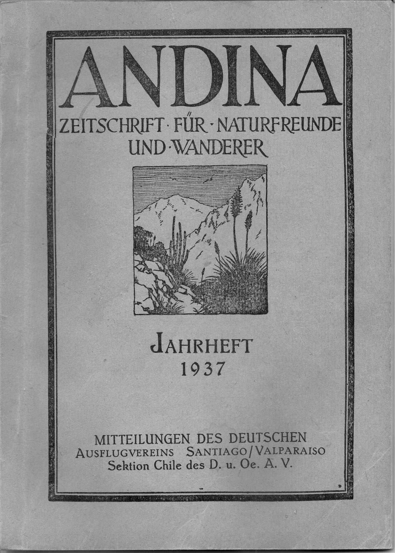 Primer Cruce del Cordón Gloria-Fortuna – Traducción del artículo de 1937
