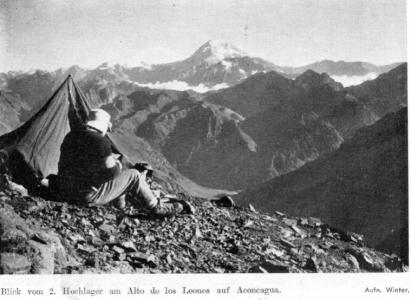 La ruta de ascenso del Alto de los Leones – Traducción del relato de 1959