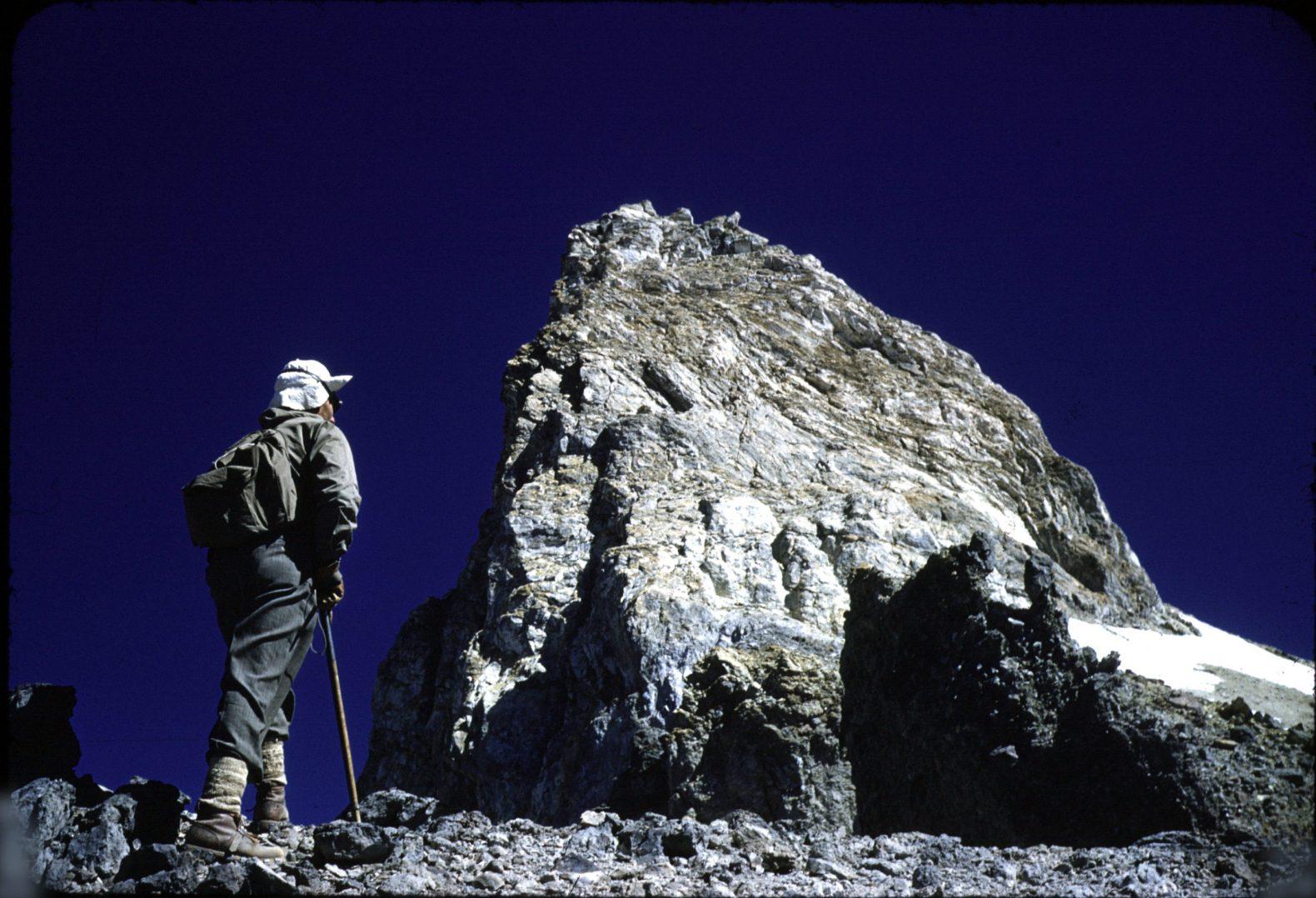 Ascenso al cerro Castillo de 1953 – Fotos de Sergio Kunstmann y Ludwig Krahl