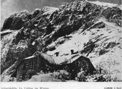 Los Refugios del Club Alpino Alemán en la Alta Cordillera Chilena –  Traducción del artículo de 1938