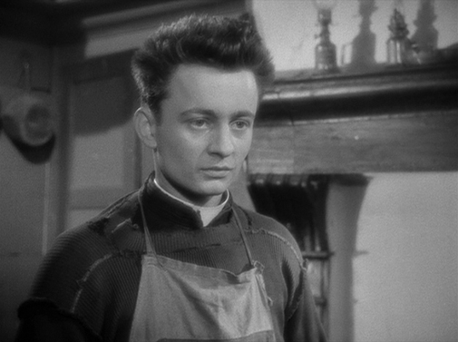 A young Claude Laydu, in Diary of a Country Priest.