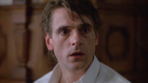 Jeremy Irons in the film Dead Ringers.