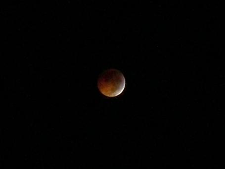 Lunar Eclipse on Winter Solstice