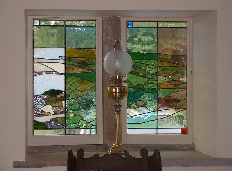 Calderdale landscape window panels