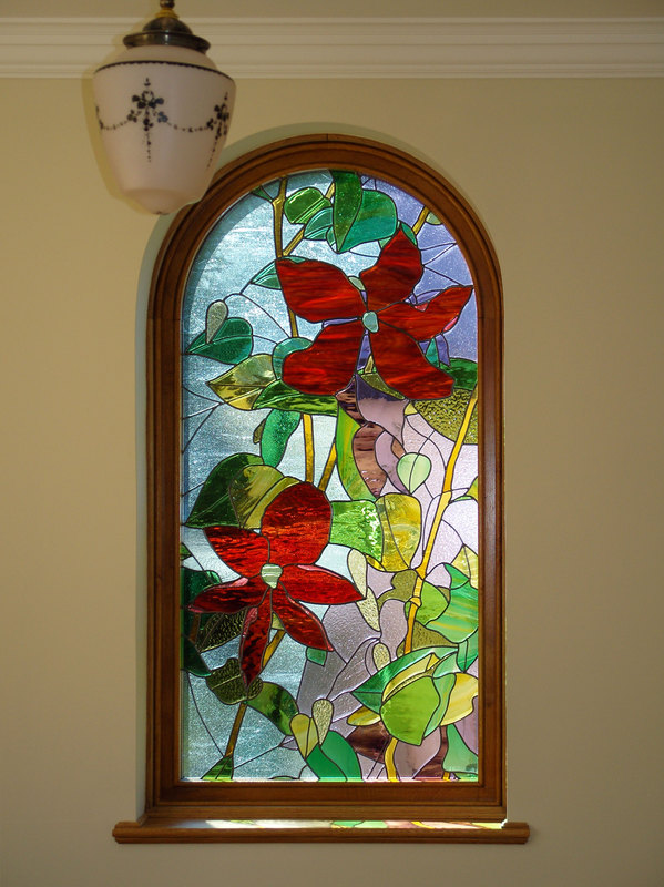 Clematis picture window