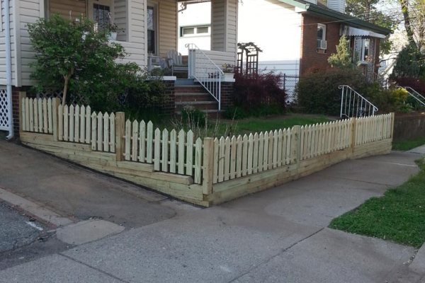 Fence Replacement After