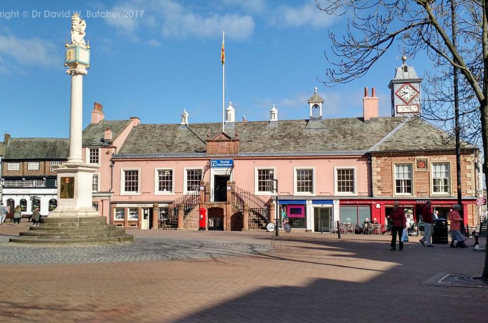 Cumbria Way Day 1, Carlisle to Caldbeck