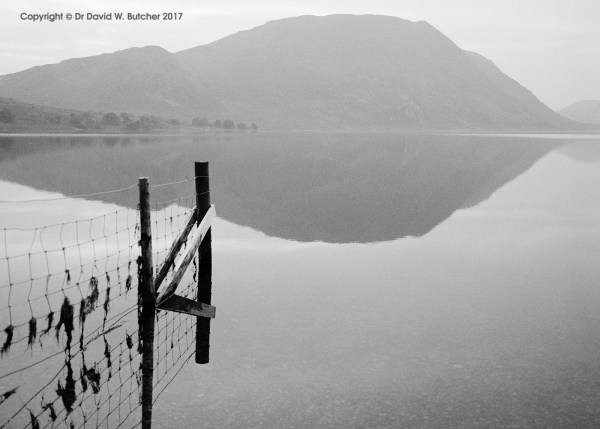 Misty Crummock Water and Mellbreak, Buttermere, Lake District