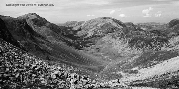 Ennerdale from Windy Gap, Lake District