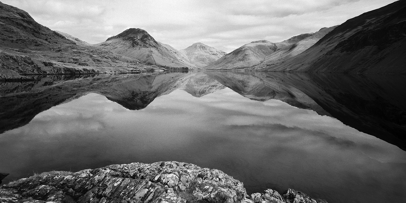 Wast Water Reflections, Wasdale, Lake District