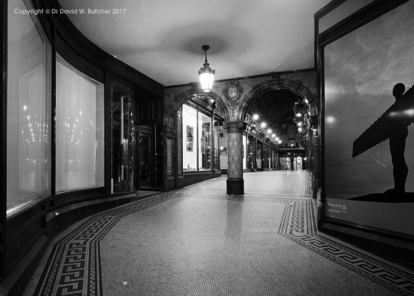 Central Arcade Newcastle at Night