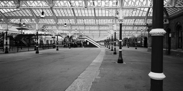 Tynemouth Station near Newcastle