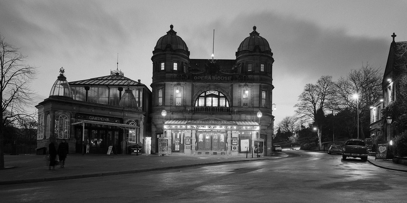 Buxton Opera House at Night, Peak District