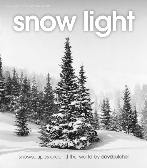 Snow Light Lecture World Premiere, Nottingham, 16th October 2018