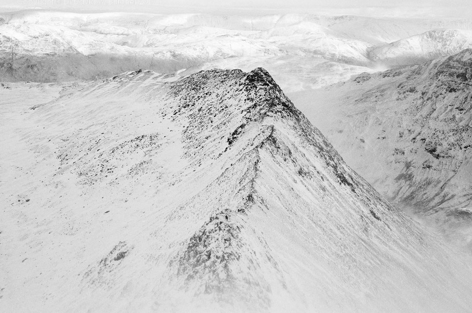 Striding Edge in Winter, New Photos
