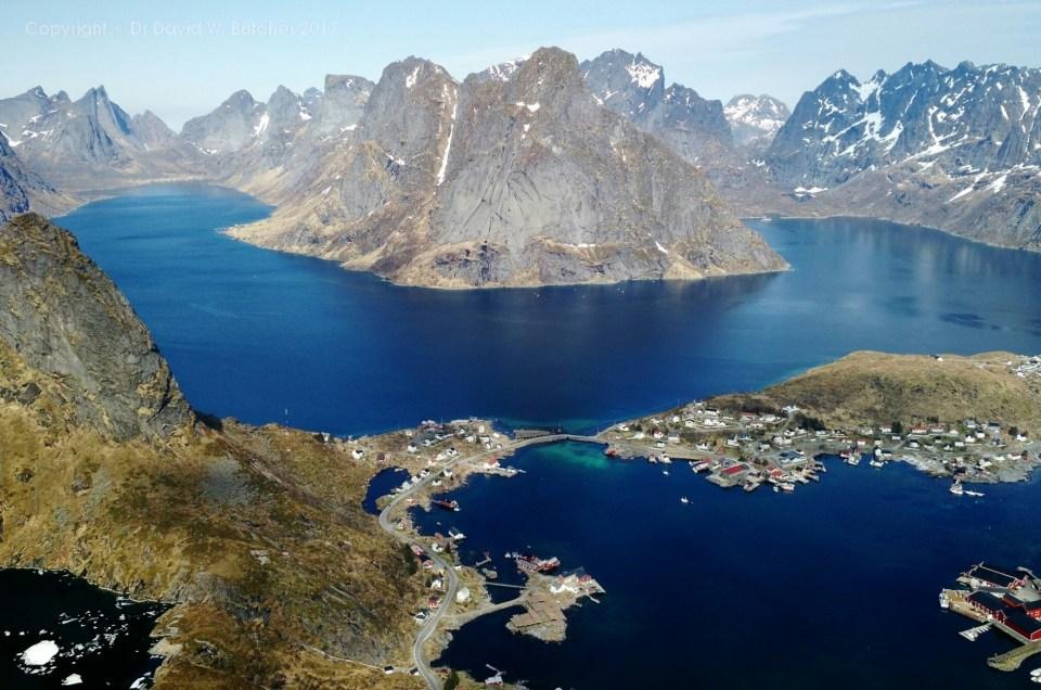 Norway Photo Trip, Reinebringen Mountain View