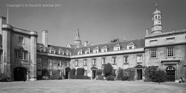 Cambridge Christ's College First Court, England