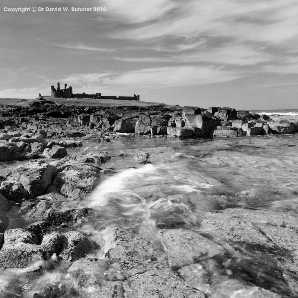 Dunstanburgh Castle Shoreline