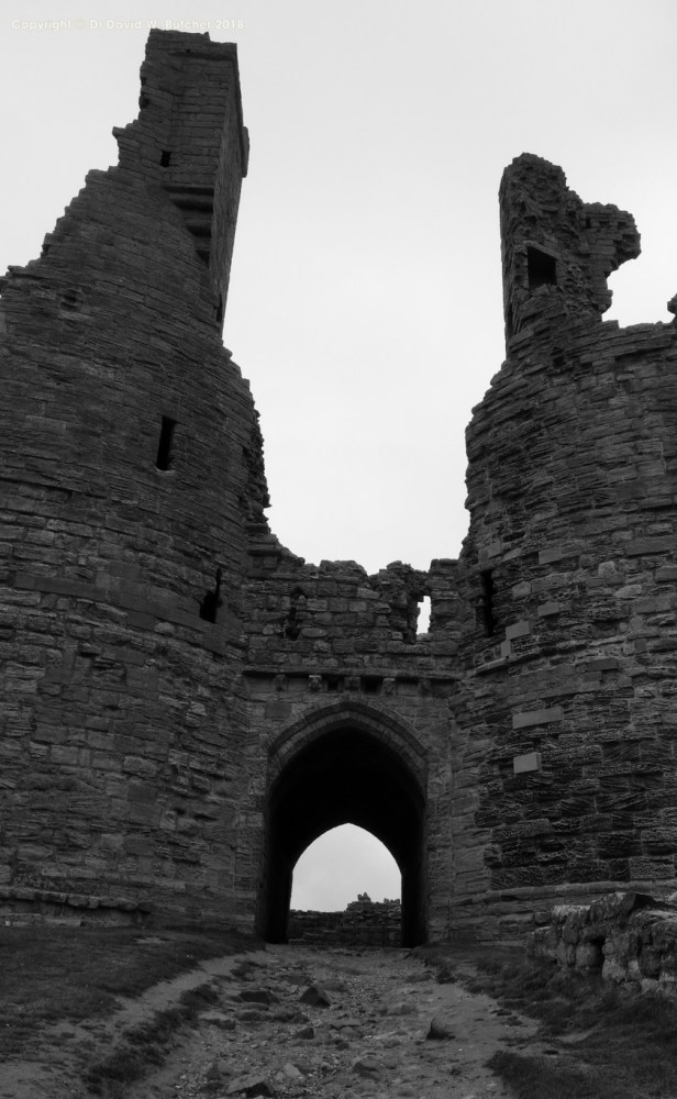 Dunstanburgh Castle entrance