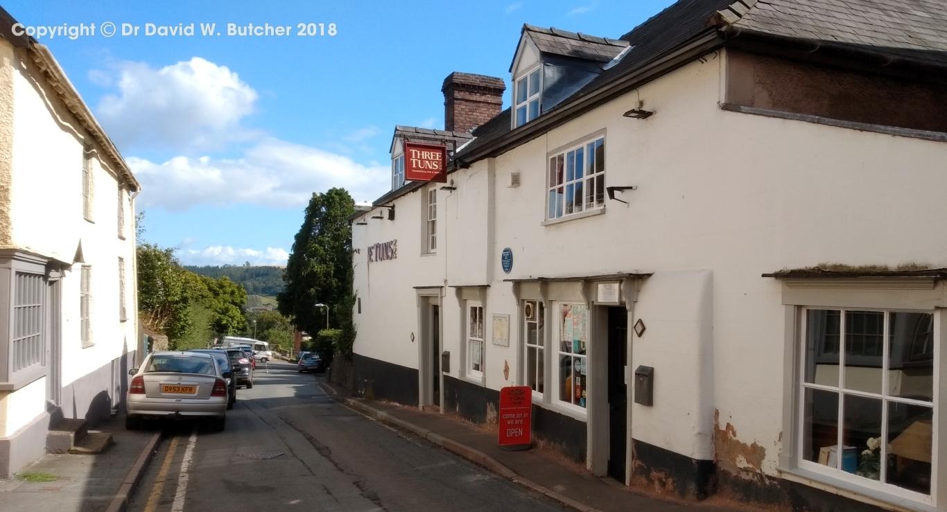 3 Tuns pub, Bishop's Castle, Shropshire