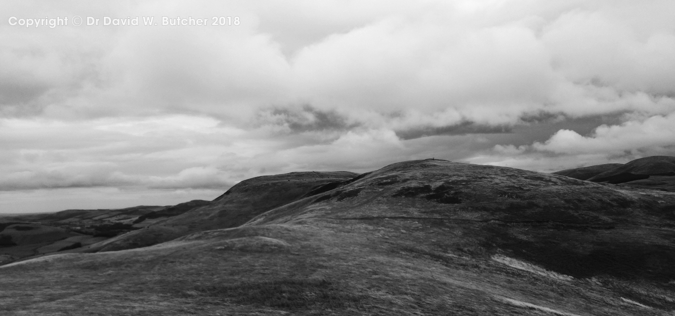Wideopen Hill between Kirk Yetholm and Morebattle