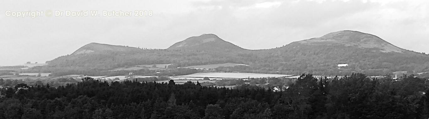 Eildon Hills near Melrose