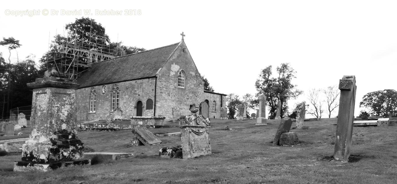 Maxton Church near St Boswell