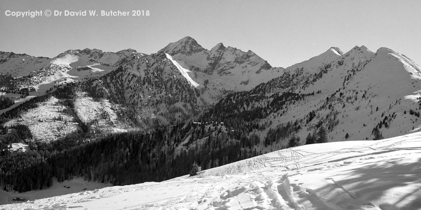 Schladming Planai Mountain View, Austria