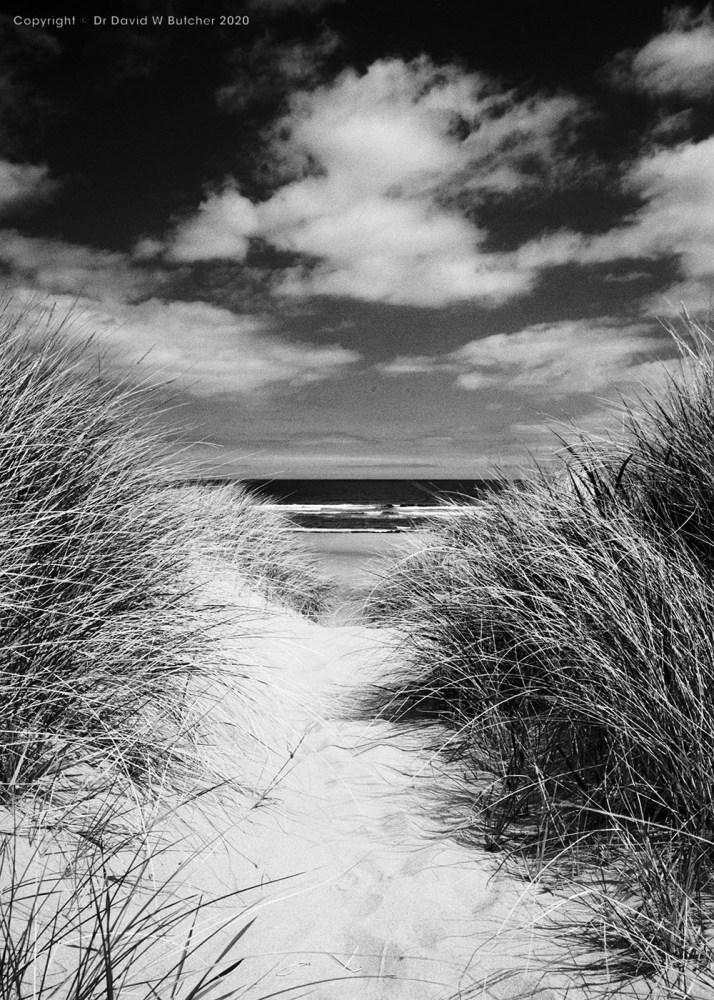 Berwick Cheswick Sands, Northumberland