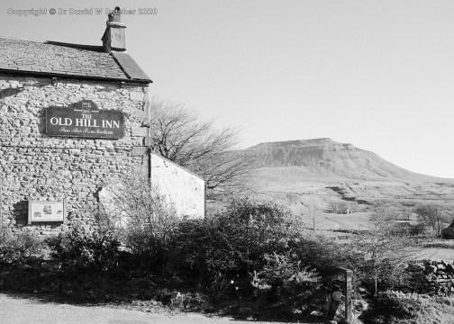 Ingleborough and Old Hill Inn, Yorkshire