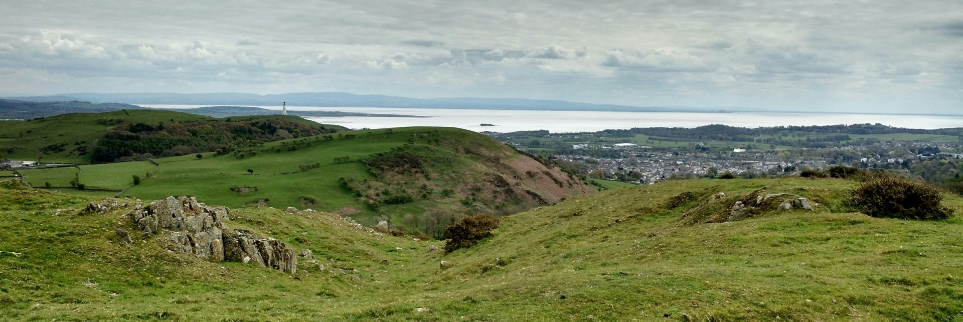 View to Ulverston and the Sea