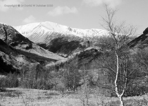 Mullach nan Coirean from Glen Nevis, Fort William, Scotland