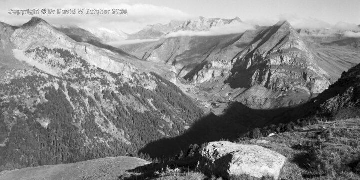 Gavarnie View West, Pyrenees, France
