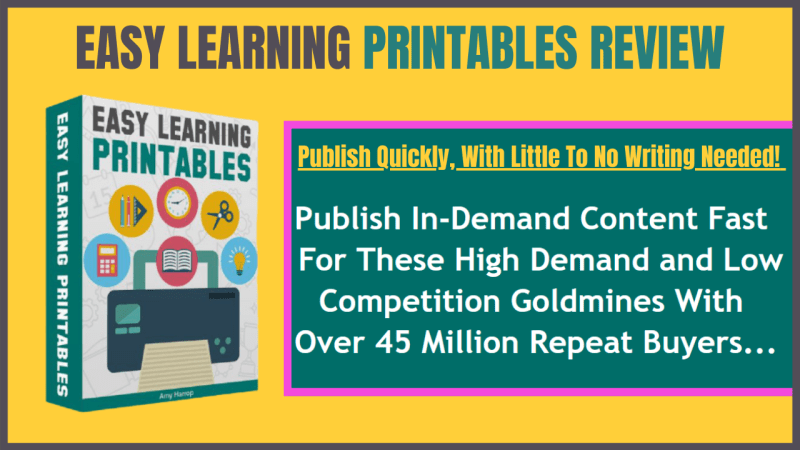 Easy Learning Printables Review