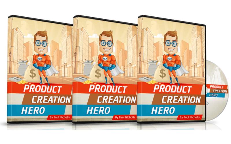 6 Figure Secrets Review - Bonus 1 Product Creation Hero