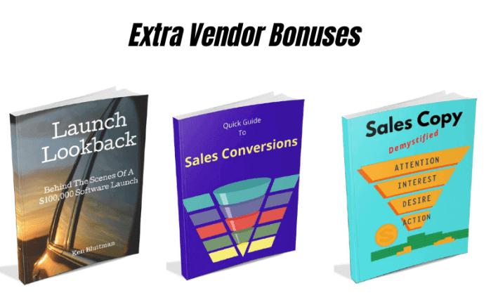 Launch-O-Matic Review Vendor Bonus