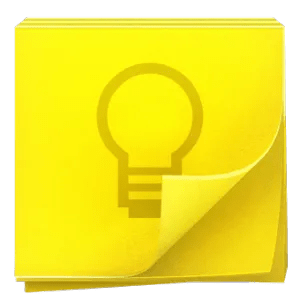 The logo for Google Keep.