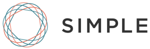 The logo for Simple.