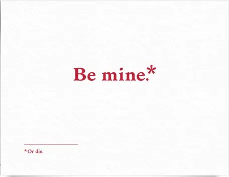 Be Mine by Old Tom Foolery