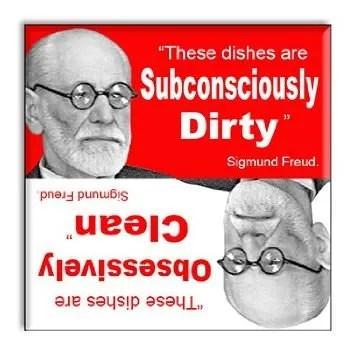 Sigmund Freud DIshwasher Magnet