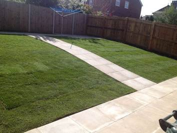 Garden Landscaping Fencing Paths And Drives Dave