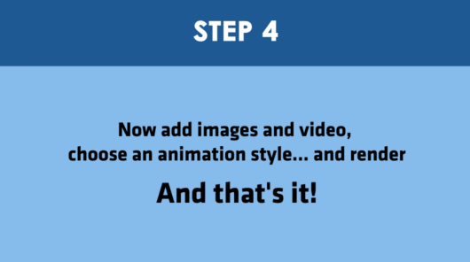 Step 4 - AI Video Ceator
