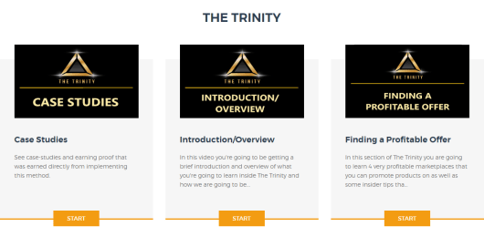 trinity members area