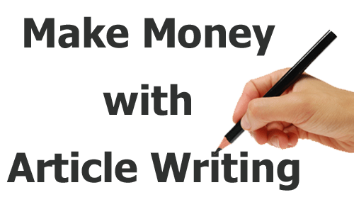 Use Your Opinion To Make Money Writing Articles