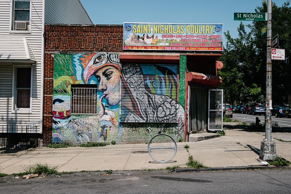 Saint Nicholas Poultry, Bushwick, NY